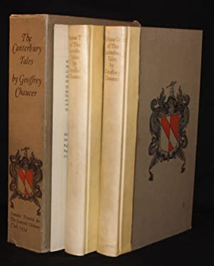 Limited Editions Club] CANTERBURY TALES (2 Volumes with Prospectus, Complete)