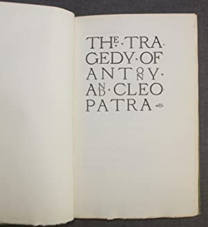 Vale Press Shakespeare] THE TRAGEDY OF ANTONY AND CLEOPATRA
