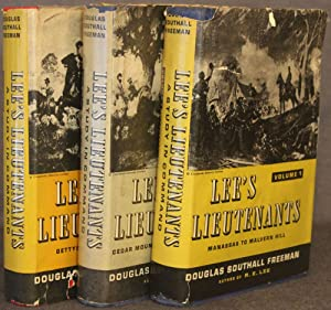 Pirate Edition] LEES LIEUTENANTS: A STUDY IN COMMAND, 3 Volumes, Complete