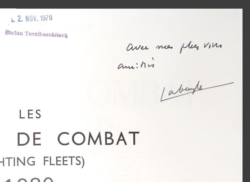 Les Flottes de Combat (Fighting Fleets) 1980 Labayle Couhat, Jean As New Hardcover