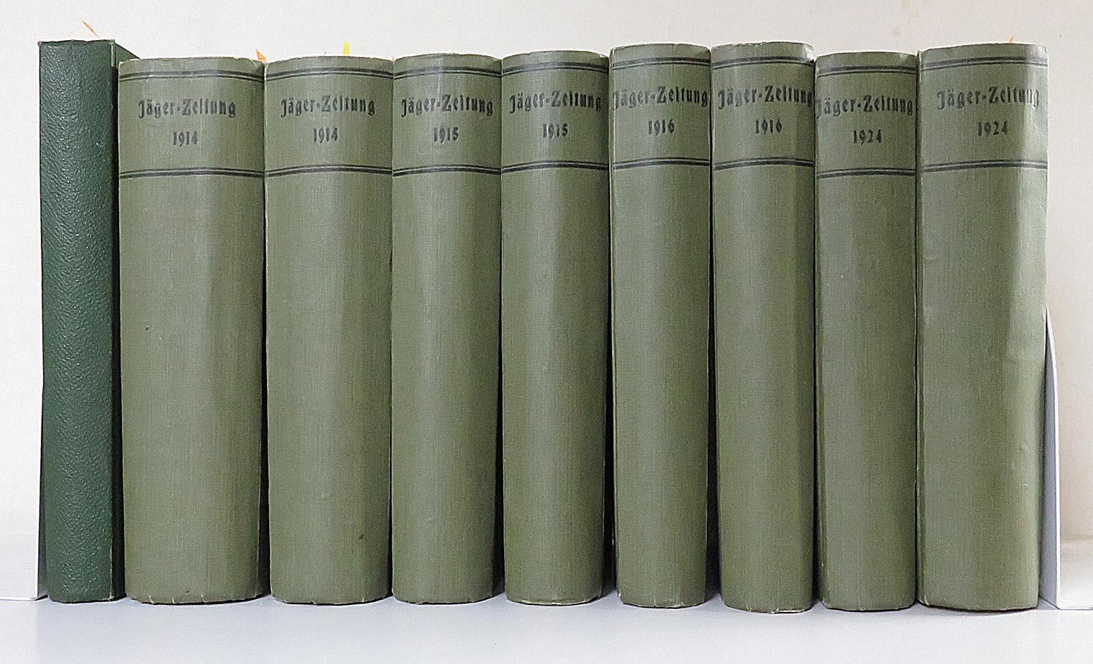 Deutsche Jäger Zeitung. Organ für Jagd,