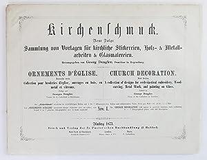 Kirchenschmuck: Sammlung von Vorlagen für kirchliche Stickereien,: Dengler, Georg
