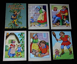 ORIGINAL CHILDREN'S BOOK ART, Lot of 5 ORIGINAL 1950's CHILDREN'S FAIRY TALE BOOK paintings for J...