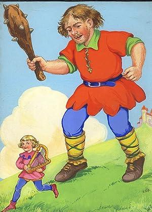ORIGINAL CHILDREN'S BOOK ART, Lot of 5 ORIGINAL 1950's CHILDREN'S FAIRY TALE BOOK ...