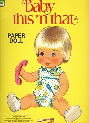 BABY THIS 'N' THAT PAPER DOLL.: PAPER DOLLS [Whitman]