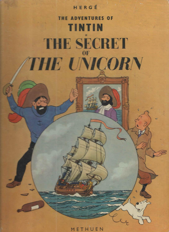 Tintin The Secret Of The Unicorn Book