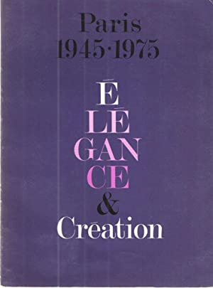 Paris 1945-1975; Elegance and Creation: Madeleine Nicolas