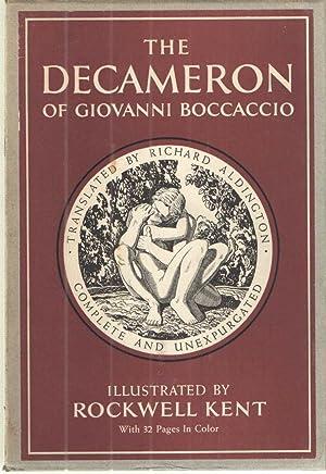 The Decameron of Giovanni Boccaccio; Two volume: Giovanni Boccaccio