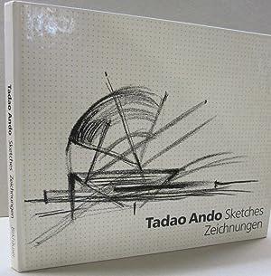 Tadao Ando Sketches Zeichnungen: Blaser,Werner with a preface by Mario Botta