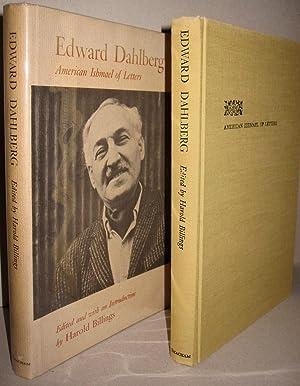 Edward Dahlberg; American Ishmael of Letters: Harold Billings, editor
