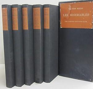 Les Miserables; Five Volumes: Victor Hugo