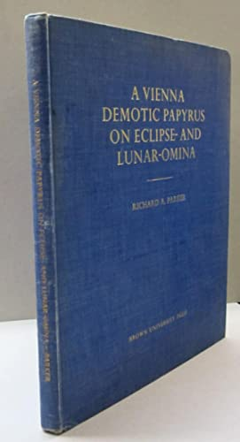 A Vienna Demotic Papyrus on Ecliipse and Lunar Omina
