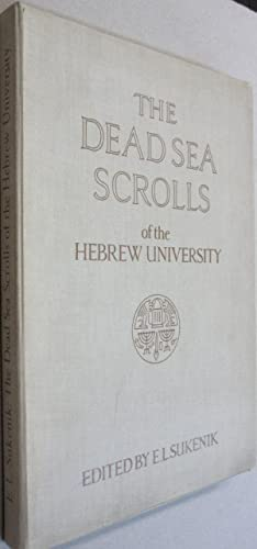 The Dead Sea Scrolls of the Hebrew University