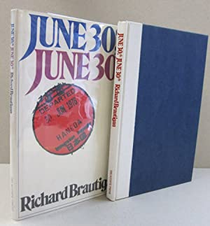June 30th, June 30th: Richard Brautigan