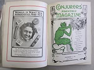 The Conjurers' Monthly Magazine Volume 1, Issues: Harry Houdini (editor)