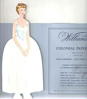Williamsburg Colonial Paper Dolls.: Colonial Williamsburg Foundation.
