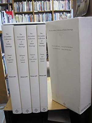 The Devonshire Collection of Italian Drawings 4 Volume Boxed Set; Venetian and North Italian ...