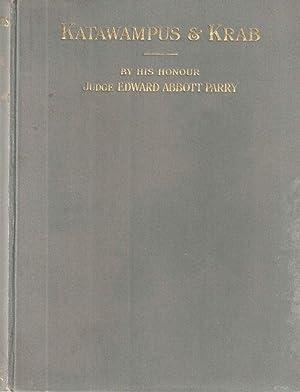 Katawampus Its Treatment & Cure and The: Parry,Edward Abbott.