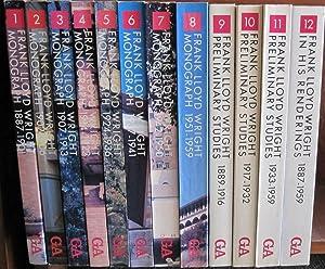 Frank Lloyd Wright Monograph 12 Volume Set: Frank Lloyd &