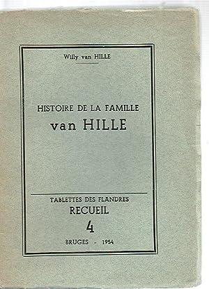 Histoire de la Famille van Hille: van Hille, Willy