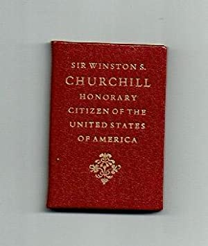 Sir Winston S. Churchill: Honorary Citizen of