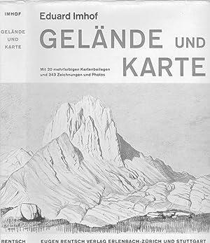 Gelände und Karte: Imhof, Eduard