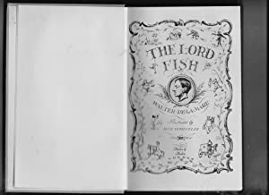 The Lord Fish: Walter de la Mare