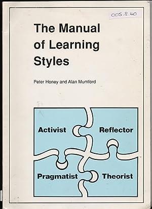 HONEY AND MUMFORD LEARNING STYLES