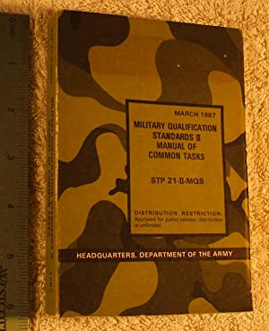 Military Qualification Standards II, Manual of Common