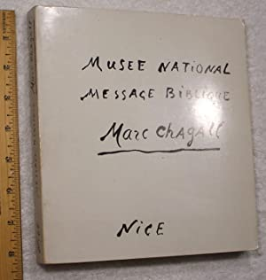 Musee National Message Biblique Marc Chagall: Marc Chagall, etal