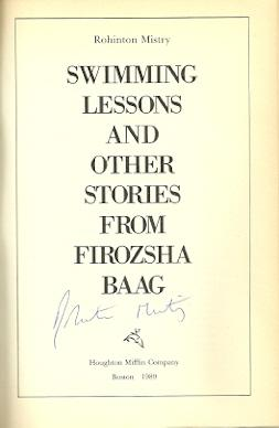 Swimming Lessons, and Other Stories from Firozsha Baag: Mistry, Rohinton