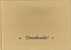 Drumthwacket: A History of the Governor's Mansion at Princeton, NJ: Selden, William K.