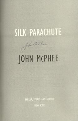 Silk Parachute: McPhee, John