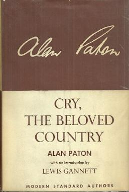 the purpose of cry the beloved country a book by alan paton Barron's booknotes-cry, the beloved country by alan paton  for one way the books are alike in  about the structure of cry, the beloved country is that it.