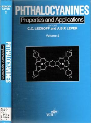 Phthalocyanines : Properties and Applications : Volume: Leznoff, C C,
