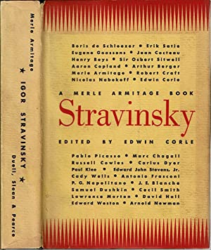 Igor Stravinsky : A Merle Armitage Book: Corle, Edwin (edited