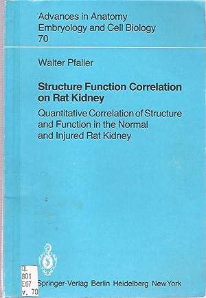 Structure Function Correlation on Rat Kidney : Quantitative Correlation of Structure and Function ...
