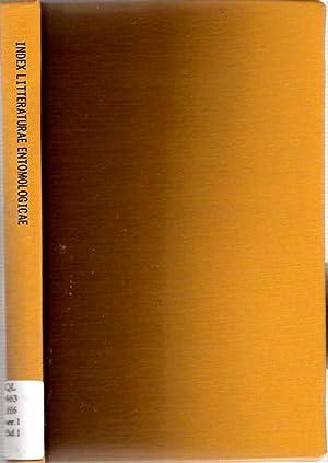 Index litteraturae entomologicae : Serie 1. Die: Horn, Walther und