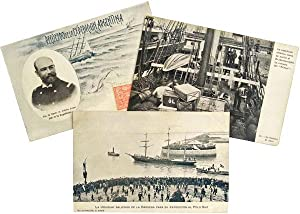 Manuscript Postcards - Argentine Rescue of Otto Nordenskjold's Swedish Antarctic Expedition