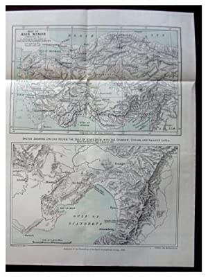 Notes on the Physical and Historical Geography: Wilson, Colonel Sir