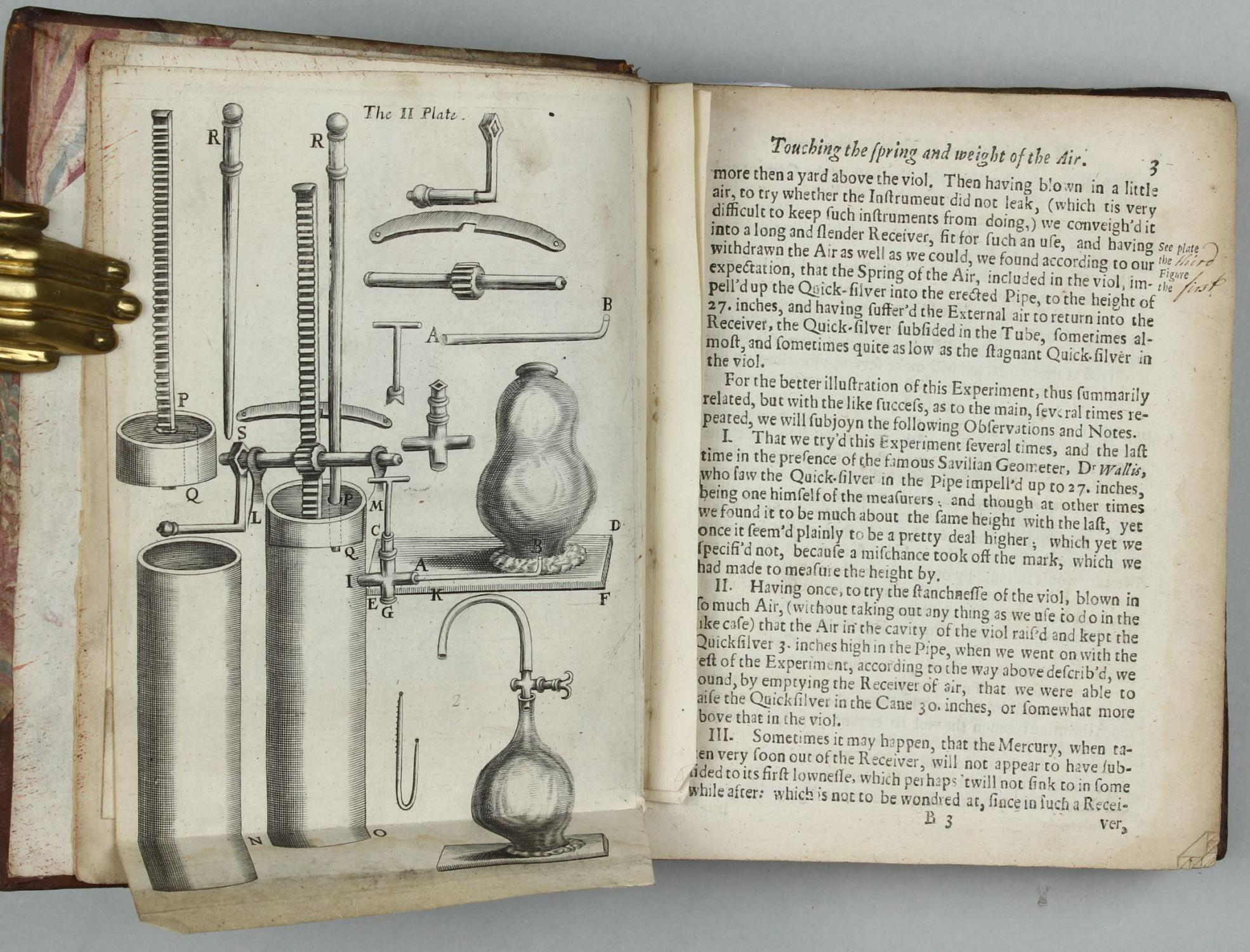 Physico Mechanical Experiments on Various Subjects, First Edition