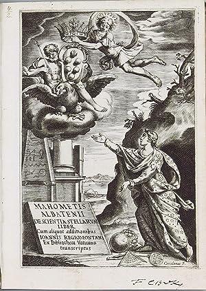 Kitab al-Zij]. Mahometis Albatenii de Scientia Stellarum: AL BATTANI, Abu