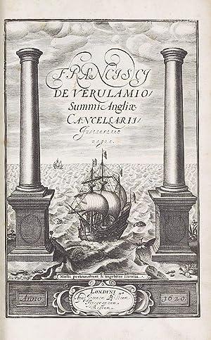 Instauratio magna [Novum organum]. From the library: BACON, Francis