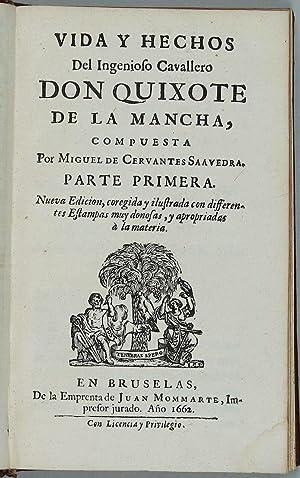 Vida y hechos del ingenioso cavallero don: CERVANTES SAAVEDRA, Miguel
