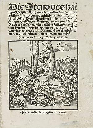 Die Stend des hailigen Römischen Reichs mitsampt: HASELBERG, Johann]