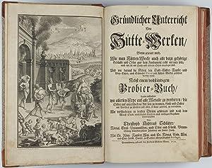Gründlicher Unterricht von Hütte-Werken. . . nebst: SCHLÜTER, Christoph Andreas