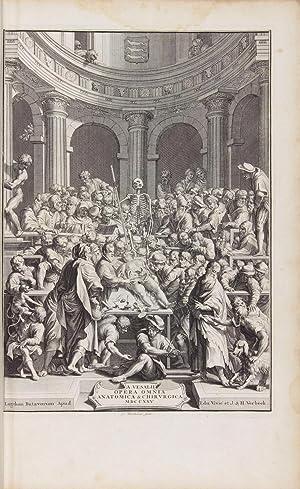 Opera Omnia Anatomica & Chirurgica.: VESALIUS, Andreas