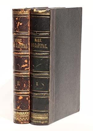 Das Kapital, Kritik der politischen Oekonomie. Vol.: MARX, Karl &