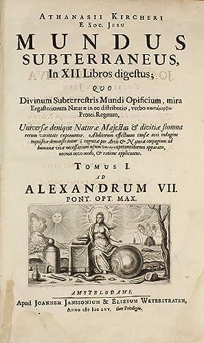 Mundus subterraneus, in XII libros digestus .: KIRCHER, Athanasius