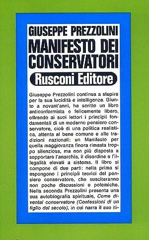 Manifesto dei conservatori: Prezzolini, Giuseppe